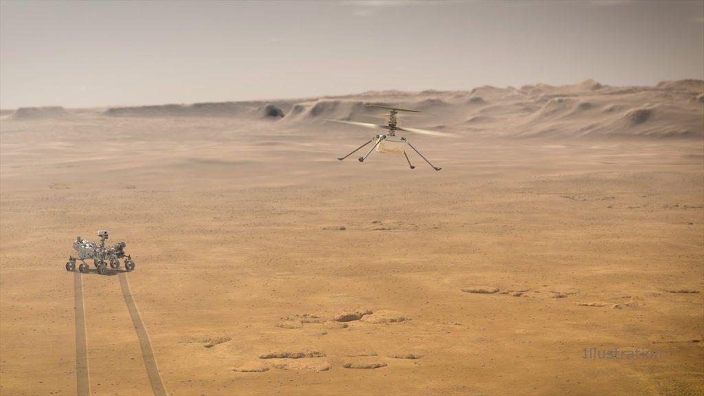 Ingenuity-เฮลคอปเตอร์ลำแรกบนดาวอังคาร